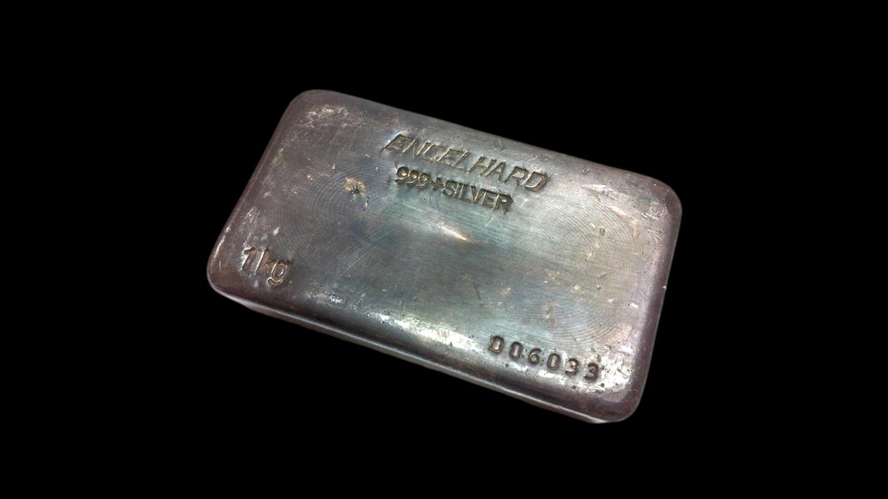 1 Kilo Silver Bar Perth Mint