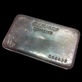 1kg Engelhard Silver Bar (Trade-In)