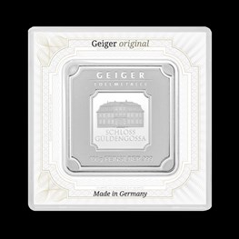 100g Silver Geiger Square Bar (coming soon)