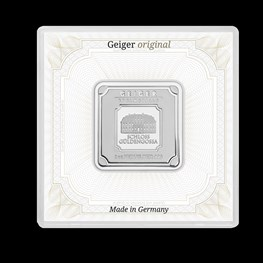 1oz Silver Geiger Square Bar (Capsule)Out of Stock