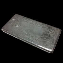 2kg Johnson Matthey Silver Bar (Trade-In)