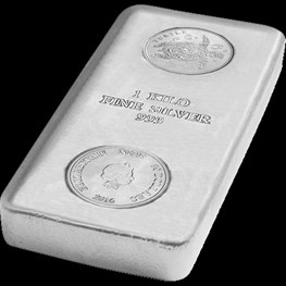 1kg Legal Tender Silver Turtle Cast Bar