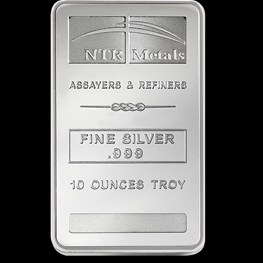10oz NTR Silver Bar