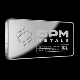 10oz OPM Silver Bar