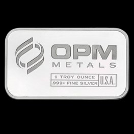 1oz OPM Silver Bar
