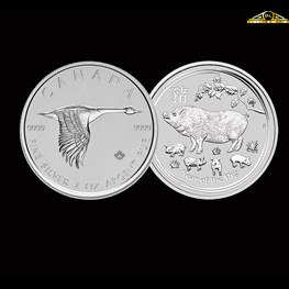 2oz silver (Our Choice)