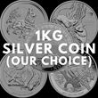 1kg Silver Coin (Our Choice)
