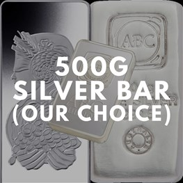 500g Silver Bar (Our Choice)