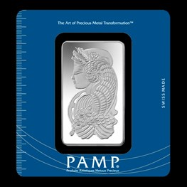 100g PAMP Silver Minted 'Fortuna'