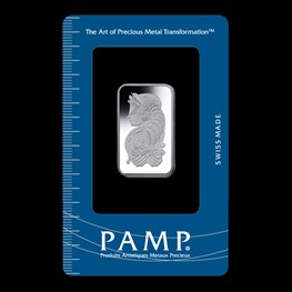 10g PAMP Silver Minted 'Fortuna'