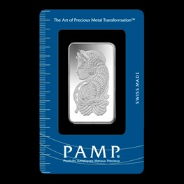 1oz PAMP Silver Minted 'Fortuna'