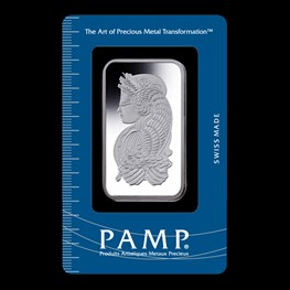 50g PAMP Silver Minted 'Fortuna'