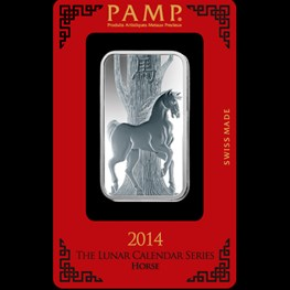 1oz Silver PAMP 'Horse'