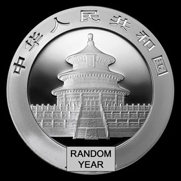 30g Silver China Panda Coin (Random Year)