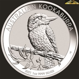 1oz Perth Mint Silver Kookaburra Coin 2021