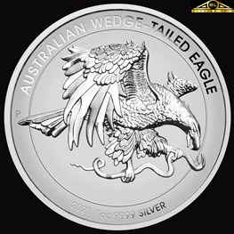 1oz Perth Mint Silver Wedge-Tailed Eagle 2021