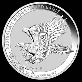 1oz Silver Wedge-Tailed Eagle 2015