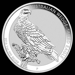 1oz Silver Wedge-Tailed Eagle 2016