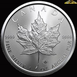 1oz Royal Canadian Mint Silver Maple 2020