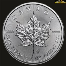 1oz Royal Canadian Mint Silver Maple 2021