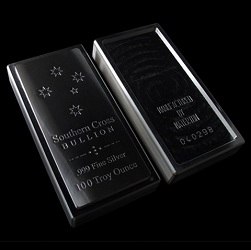 100oz Southern Cross 'Constellation' Silver Bar