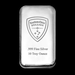 10oz Southern Cross 'Cast' Silver Bar