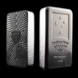 10 oz Southern Cross Bullion 'Minted' Silver Bar