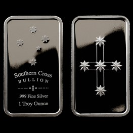 1oz Southern Cross 'Eureka' Silver Bar